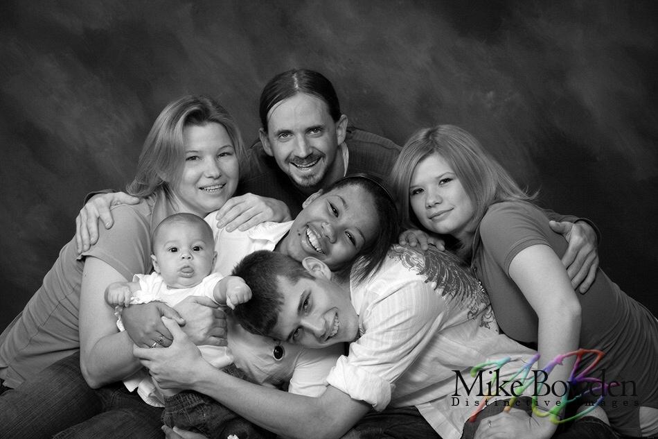 Happy_family__BW